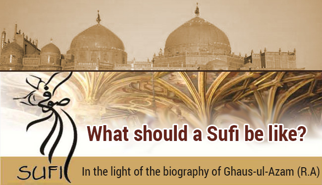 What should a Sufi be like?